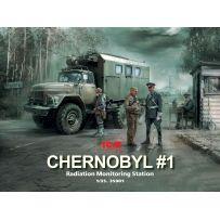 Chernobyl 1. Radiation Monitoring Station 1/35
