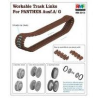 Workable Track Links for Panther A/G 1/35