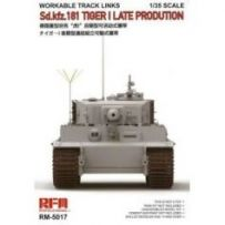 Workable Track Links for Tiger I 1/35
