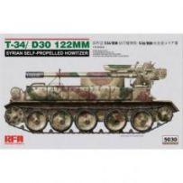 T-34/D-30 122mm 1/35