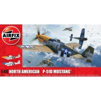 North American P51-D Mustang (Filletless Tails) 1/48