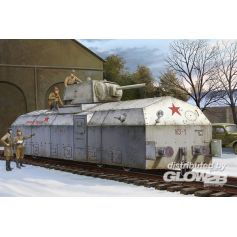 Soviet Armoured Train 1/72