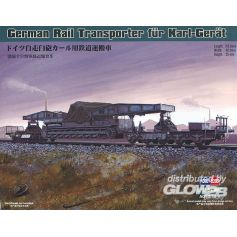 Hobby Boss 82906 - German Rail Transporter fur Karl-Gerat 1/72