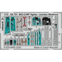 Eduard SS701 MiG-21MF fighter-bomber Weekend 1/72