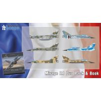 Mirage F.1 Duo Pack and Book 1/72