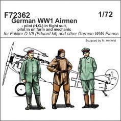 German WWI Airmen 1/72