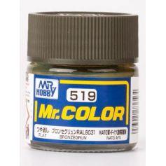 C-519 Mr. Color (10 ml) Bronzegrün