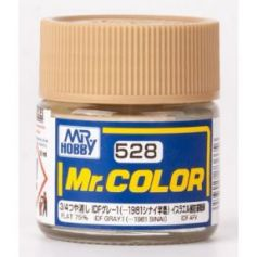 C-528 Mr. Color (10 ml) IDF Gray 1 (-1981 Sinai)