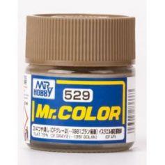 C-529 Mr. Color (10 ml) IDF Gray 2 (-1981 Golan)