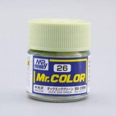 Dark Egg Green Semi-Gloss