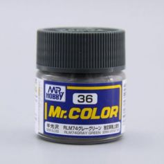 Mr. Color (10 ml) RLM74 Gray Green