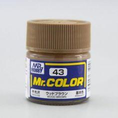 Wood Brown Semi-Gloss