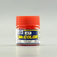 Mr. Color (10 ml) Clear Red