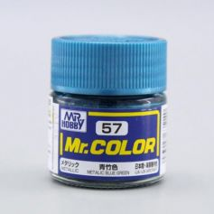 Mr. Color (10 ml) Metallic Blue Green