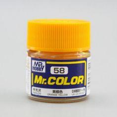 Orange Yellow Semi-Gloss