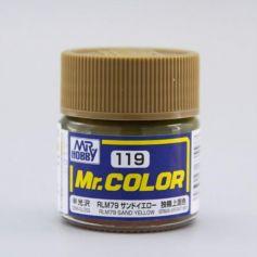 Rlm76 Sand Yellow Semi-Gloss