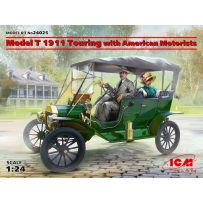 Model T 1911 Touring with American Motorists 1/24