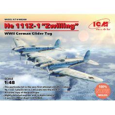 He 111Z-1 Zwilling WWII German Glider Tug 1/48