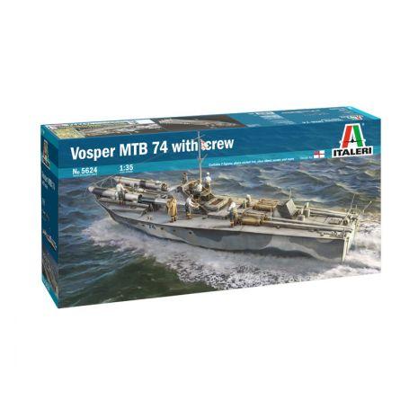 Vosper MTB 74 & Equipage 1/35