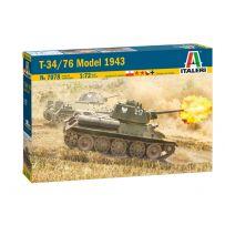 T-34/76 Modele 1943 1/72
