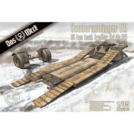 Sonderanhanger 115 10 Ton Tank Trailer 1/35