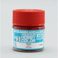Aqueous Hobby Colors (10 ml) Red