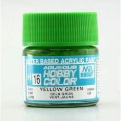 Aqueous Hobby Colors (10 ml) Yellow Green