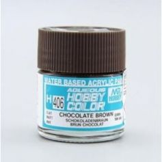 Aqueous Hobby Colors (10 ml) Chocolate Brown