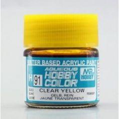 Aqueous Hobby Colors (10 ml) Clear Yellow
