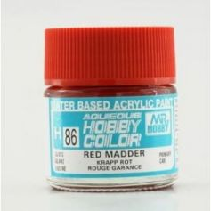 Aqueous Hobby Colors (10 ml) Red Madder