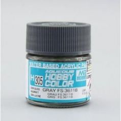 Aqueous Hobby Colors (10 ml) Gray FS 36118