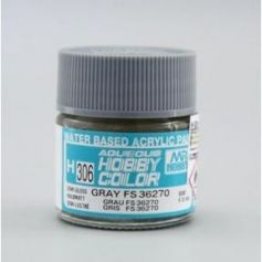 Aqueous Hobby Colors (10 ml) Gray FS 36270