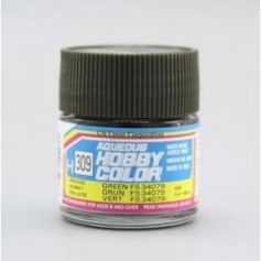 Aqueous Hobby Colors (10 ml) Green FS 34079