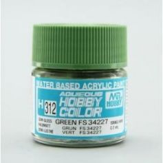 Aqueous Hobby Colors (10 ml) Green FS 34227