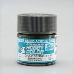 Aqueous Hobby Colors (10 ml) Gray FS 36231
