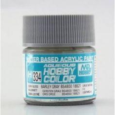 H-334 Aqueous Hobby Colors (10 ml) Barley Gray BS4800/18B21