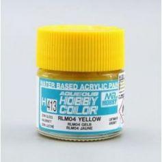 Aqueous Hobby Colors (10 ml) RLM04 Yellow