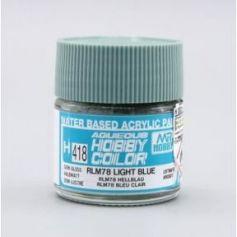 Aqueous Hobby Colors (10 ml) RLM78 Light Blue