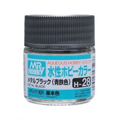 Aqueous Hobby Colors (10 ml) Metal Black