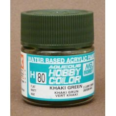 Aqueous Hobby Colors (10 ml) Khaki Green