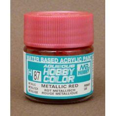 Aqueous Hobby Colors (10 ml) Metallic Red