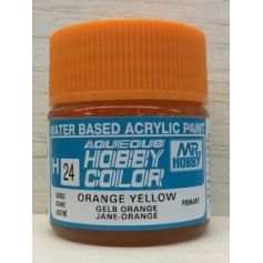 Aqueous Hobby Colors (10 ml) Orange Yellow