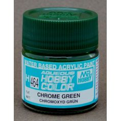 Aqueous Hobby Colors (10 ml) Chrome Green