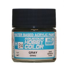 """Aqueous Hobby Colors (10 ml) Gray """"Grau"""""""