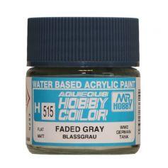 "Aqueous Hobby Colors (10 ml) Faded Gray ""Blassgrau"""