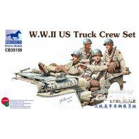 WWII US Truck Crew Set 1/35