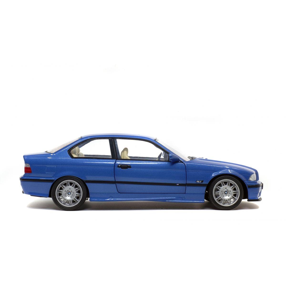 BMW E36 Coupe M3 Bleu Estoril 1990 1/18