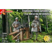 Teutonic field artillery 1st half XV century 1/72