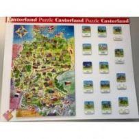 Deutschland LandkartePuzzle-Schaustück