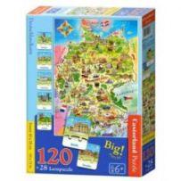 Deutschlandkarte Puzzle 120 +28